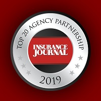 Insurance Journal Top 20 Agency Partnership 2019 Seal